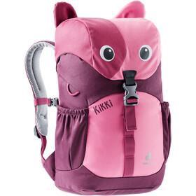 deuter Kikki Backpack 8l Kids, hotpink/maron